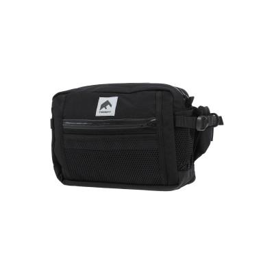 FLAGSTUFF バックパック&ヒップバッグ ブラック ナイロン 100% バックパック&ヒップバッグ