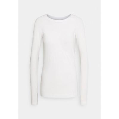 スウェッティベティ カットソー レディース トップス GLISTEN WORKOUT - Long sleeved top - white