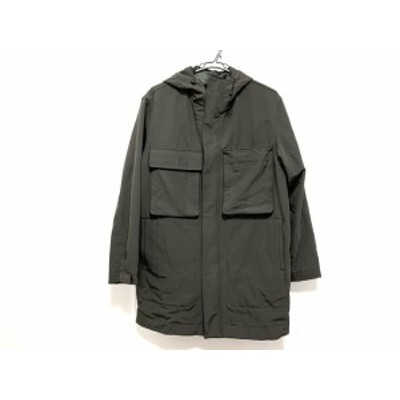 ランバン LANVIN コート サイズ46 L メンズ ダークグレー STUDIO/冬物【中古】20201017