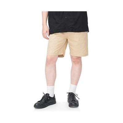 ROCON ハーフパンツ メンズ おしゃれ ショートパンツ 5分丈 膝上 スポーツ カジュアル ファッション 夏 無地 調整紐