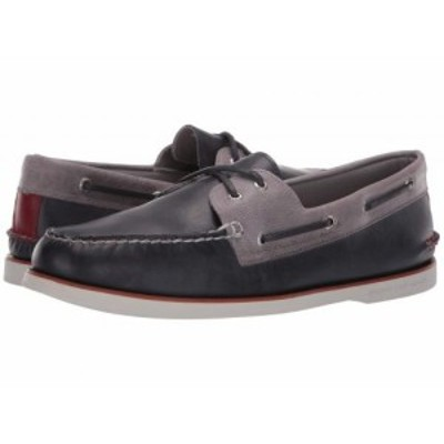 Sperry スペリー メンズ 男性用 シューズ 靴 ボートシューズ Gold Cup A/O 2-Eye Fairhaven Navy/Grey【送料無料】