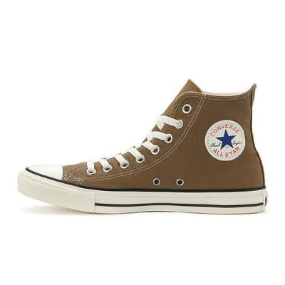 コンバース メンズ シューズ スニーカー 靴 オールスター ウォッシュド キャンバス ハイカット ブラウン CONVERSE ALL STAR WASHED CANVAS HI BROWN