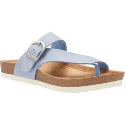 イーストランド Eastland レディース サンダル・ミュール トングサンダル シューズ・靴 Shauna Strap and Buckle Thong Sandal Light Blu