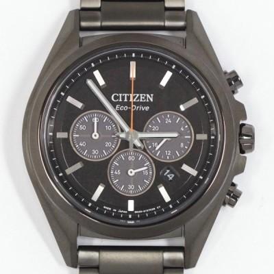 CITIZEN シチズン アテッサ エコドライブ クロノグラフ CA4394-54E チタン メンズ クォーツ 未使用品
