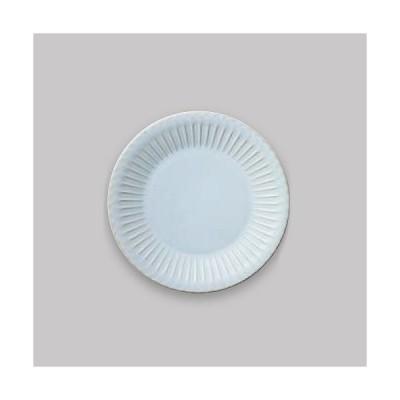NEW 洋食器 丸皿 ストーリア シャビーブルー 20cmプレート