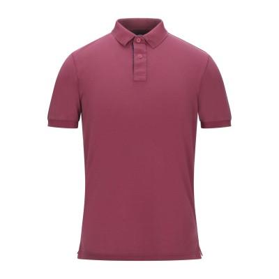 グラン サッソ GRAN SASSO ポロシャツ ガーネット 48 コットン 90% / ポリウレタン 10% ポロシャツ