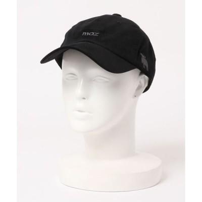 帽子 キャップ [ MOZ / モズ ] MOZコーデュロイ 1Point 刺繍 ロゴ  ロー キャップ