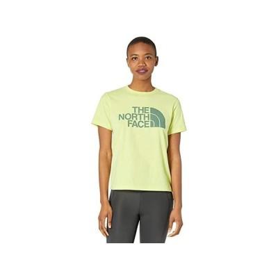 ザ・ノースフェイス Half Dome Cotton Short Sleeve Tee レディース シャツ トップス Pale Lime Yellow