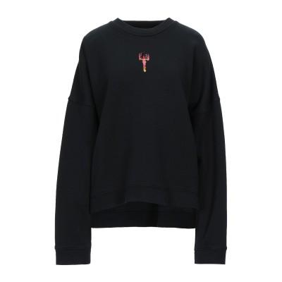 ディースクエアード DSQUARED2 スウェットシャツ ブラック XS コットン 100% / ポリウレタン スウェットシャツ