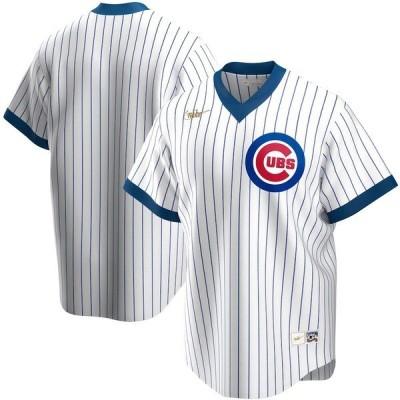 ナイキ メンズ Tシャツ トップス Chicago Cubs Nike Home Cooperstown Collection Team Jersey