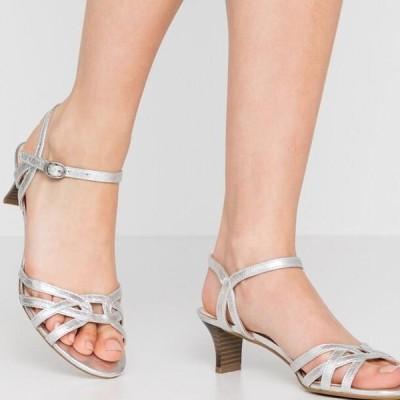 エスプリ レディース サンダル BIRKIN - Sandals - silver