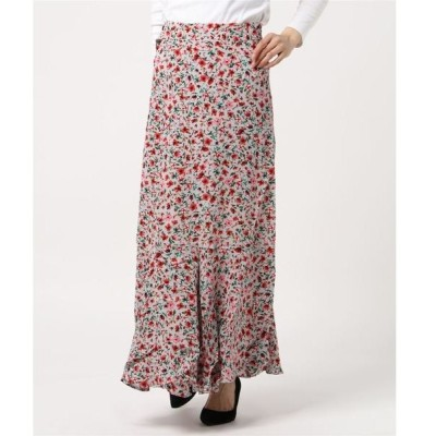 スカート ロングミディラップスカート