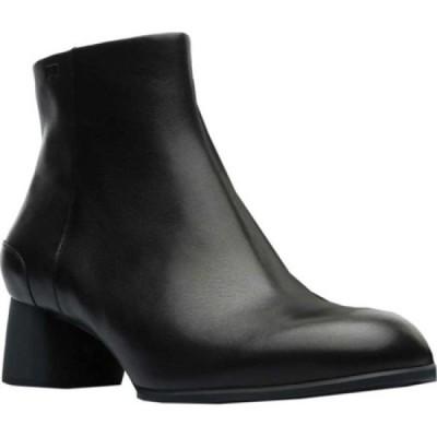 カンペール Camper レディース ブーツ ショートブーツ シューズ・靴 Katie Ankle Boot Black Smooth Leather