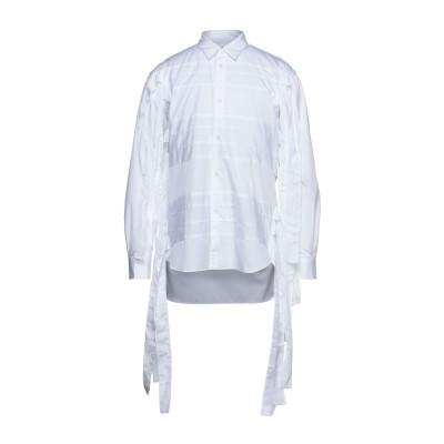 COMME des GARÇONS SHIRT シャツ ホワイト L コットン 100% シャツ