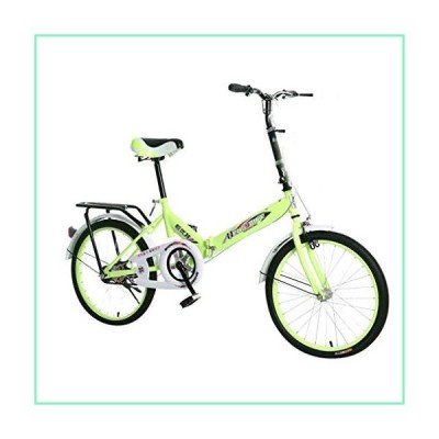 XBSLJ Mountain Bikes, 20 Inch Folding Bike Lightweight Mini Road Bicycle Portable Bicycle Adult Student【並行輸入品】