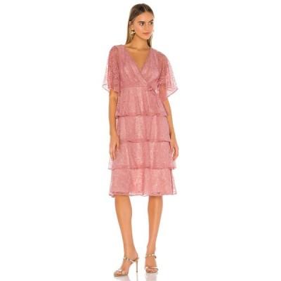 トゥラロサ Tularosa レディース ワンピース ワンピース・ドレス Autumn Dress Dusty Rose