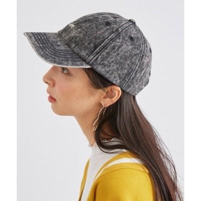 帽子 キャップ デニム ロゴキャップ