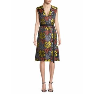 デレクラム レディース ワンピース Belted A-line Dress