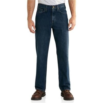 カーハート CARHARTT メンズ ジーンズ・デニム ボトムス・パンツ Relaxed Fit Holter Jeans FRONTIER BLUE