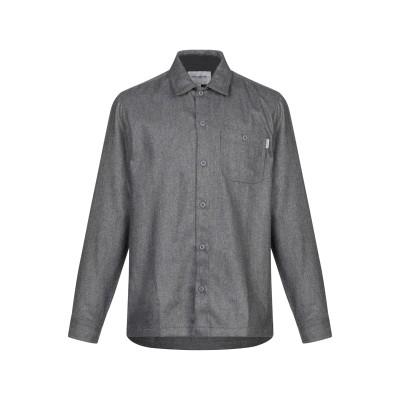 カーハート CARHARTT シャツ 鉛色 S ウール 60% / ポリエステル 32% / ナイロン 8% シャツ