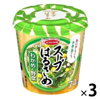 エースコックエースコック スープはるさめ わかめと野菜 21g 3個