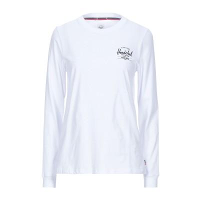 ハーシェル サプライ HERSCHEL SUPPLY CO. T シャツ ホワイト XS コットン 100% T シャツ