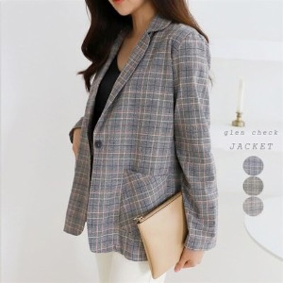 ジャケット アウター オーバーフィット テーラード  ゆる ゆったり 体型カバー レディース オフィス 結婚式 お呼ばれ(d1036103)