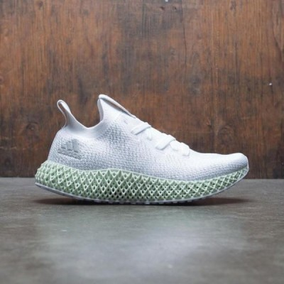 アディダス レディース シューズ  Adidas Women Alphaedge 4D W (white / grey three / linen green)