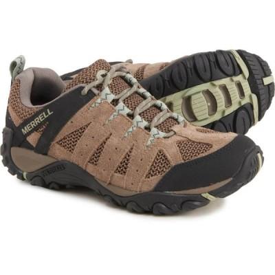 メレル Merrell レディース ハイキング・登山 シューズ・靴 Accentor 2 Vent Hiking Shoes - Suede Brindle/Tea