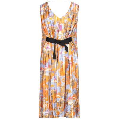 ジャッカ JUCCA 7分丈ワンピース・ドレス ライラック 42 紡績繊維 7分丈ワンピース・ドレス