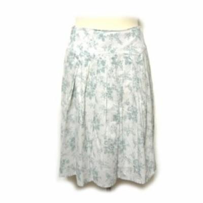 Paul Smith BLACK アンティークローズ薔薇キルトフレアスカート (antique rose kilt flare skirt) ポールスミス ブラック 044511