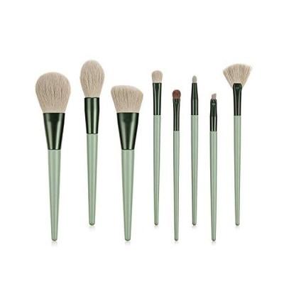 【並行輸入品】Makeup Brush,ORIGIN ENVY 8Pcs Horse Hair Makeup Brushes Tool Set Cos
