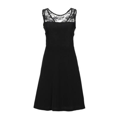 LADY CHOCOPIE ミニワンピース&ドレス ブラック 40 ポリエステル 100% ミニワンピース&ドレス