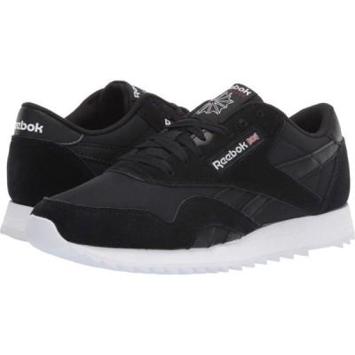 リーボック Reebok Lifestyle レディース スニーカー シューズ・靴 Classic Nylon Ripple Black/White/Excellent Red