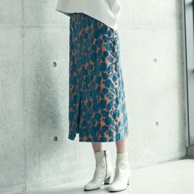 ドロワットロートレアモン(Droite lautreamont)/アンティークフラワージャガースカート