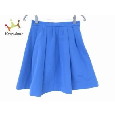 アプワイザーリッシェ Apuweiser-riche スカート サイズS レディース 美品 ブルー     スペシャル特価 20200510