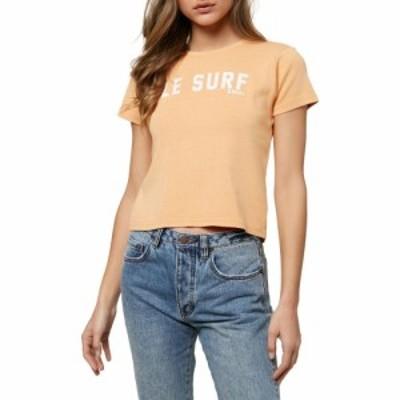 オニール ONEILL レディース Tシャツ トップス Le Surf Graphic Tee Apricot