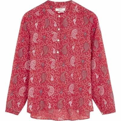イザベル マラン Isabel Marant Etoile レディース ブラウス・シャツ トップス Maria Printed Cotton Blouse Red