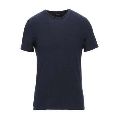MARCIANO T シャツ ダークブルー S コットン 95% / ポリウレタン 5% T シャツ