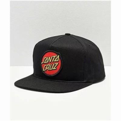 サンタクルーズ キャップ Santa Cruz Twill Dot Trucker Hat Black