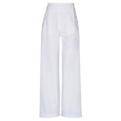 TENAX パンツ ホワイト 40 レーヨン 60% / リネン 40% パンツ