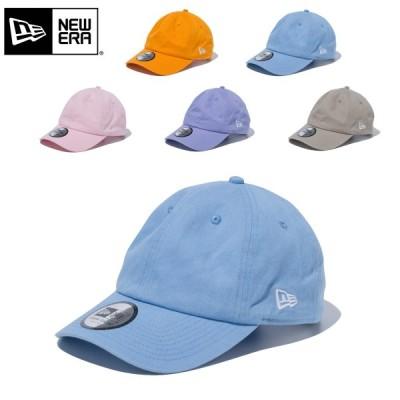 ニューエラ キャップ 帽子 NEW ERA Casual Classic ベーシック CAP イージースナップ ウォッシュ加工 無地 12653656 12653657 12653658 12653659 12653660 春夏