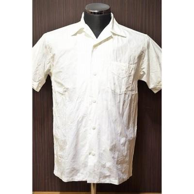 フェローズ PHERROW'S 18S-PIS1 オープンシャツ ペイズリー ホワイ