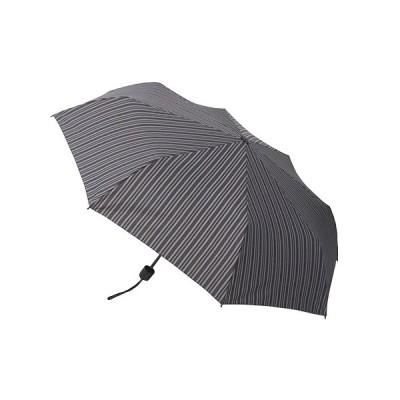hands+ 風に強い簡単開閉 折りたたみ傘 55cm ストライプ│hands+ウェザー hands+ 折り畳み傘 東急ハンズ
