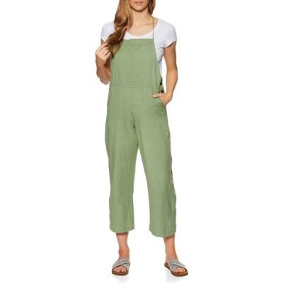 リップカール Rip Curl レディース オールインワン ジャンプスーツ ワンピース・ドレス Saltwater Jumpsuit Green