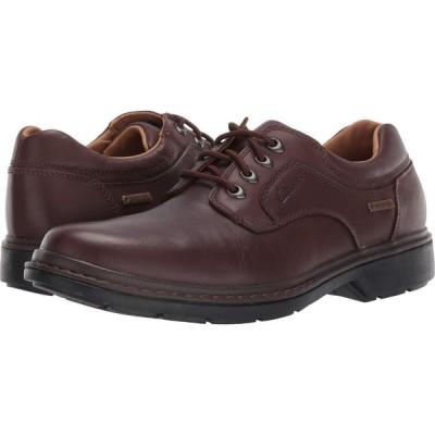クラークス Clarks メンズ 革靴・ビジネスシューズ シューズ・靴 Rockie Lo Gtx Brown Leather