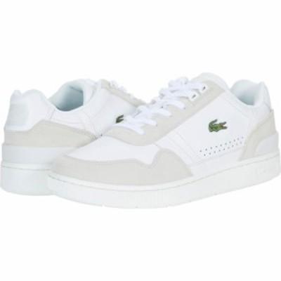 ラコステ Lacoste メンズ スニーカー シューズ・靴 T-Clip 0721 1 White/Off White