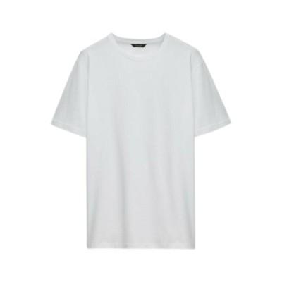 マッシモ ドゥッティ Tシャツ メンズ トップス Basic T-shirt - white