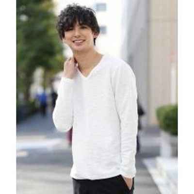 MK homme(エムケーオム)カットソー/ツイーディースラブ【お取り寄せ商品】