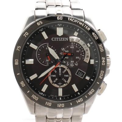 シチズン 腕時計 e610 a074339 エコドライブ ソーラー ブラック メンズ  CITIZEN 中古